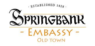 Springbank whisky Embassy
