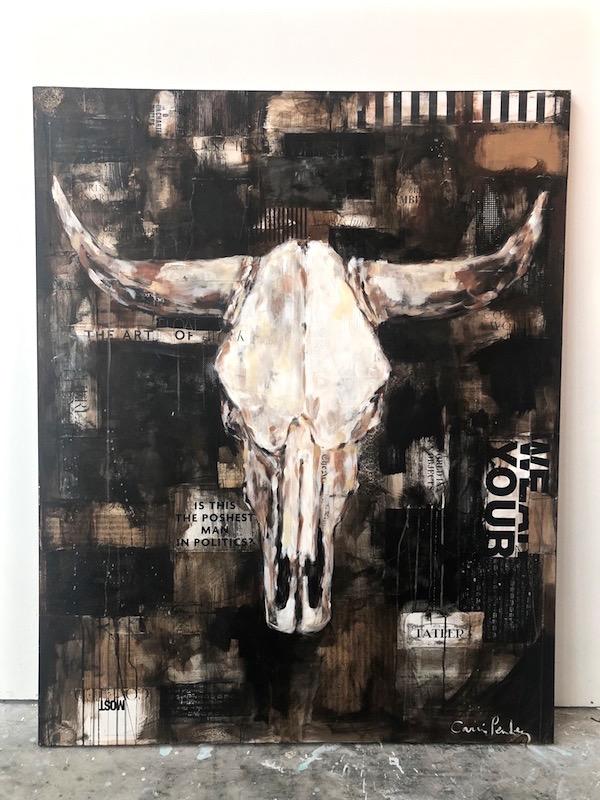 bull skull I