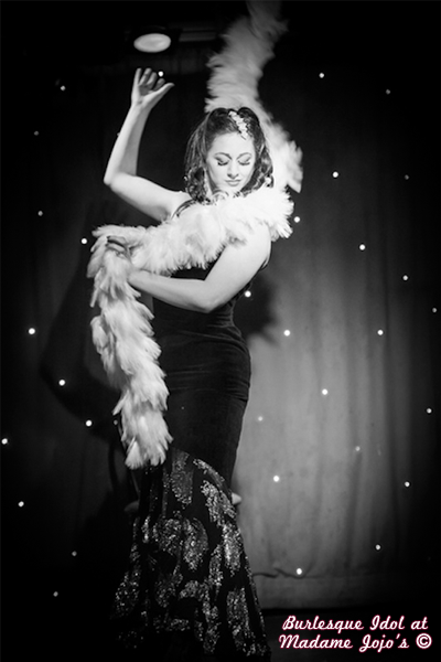 Tempest Rose Burlesque Idol House of Burlesque London