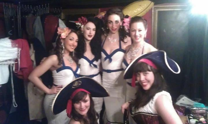 Fun backstage at last Fridays Shipwrecked!