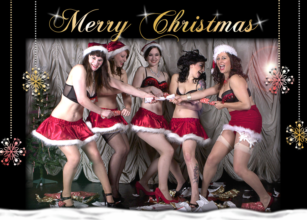 Merry Christmas to all of our wonderful friends, family and fabulous burlesque lovers from House of Burlesque! xx