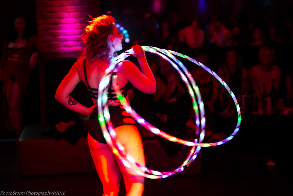 Storm Hooper by James Pratt House of Burlesque Speakeasy