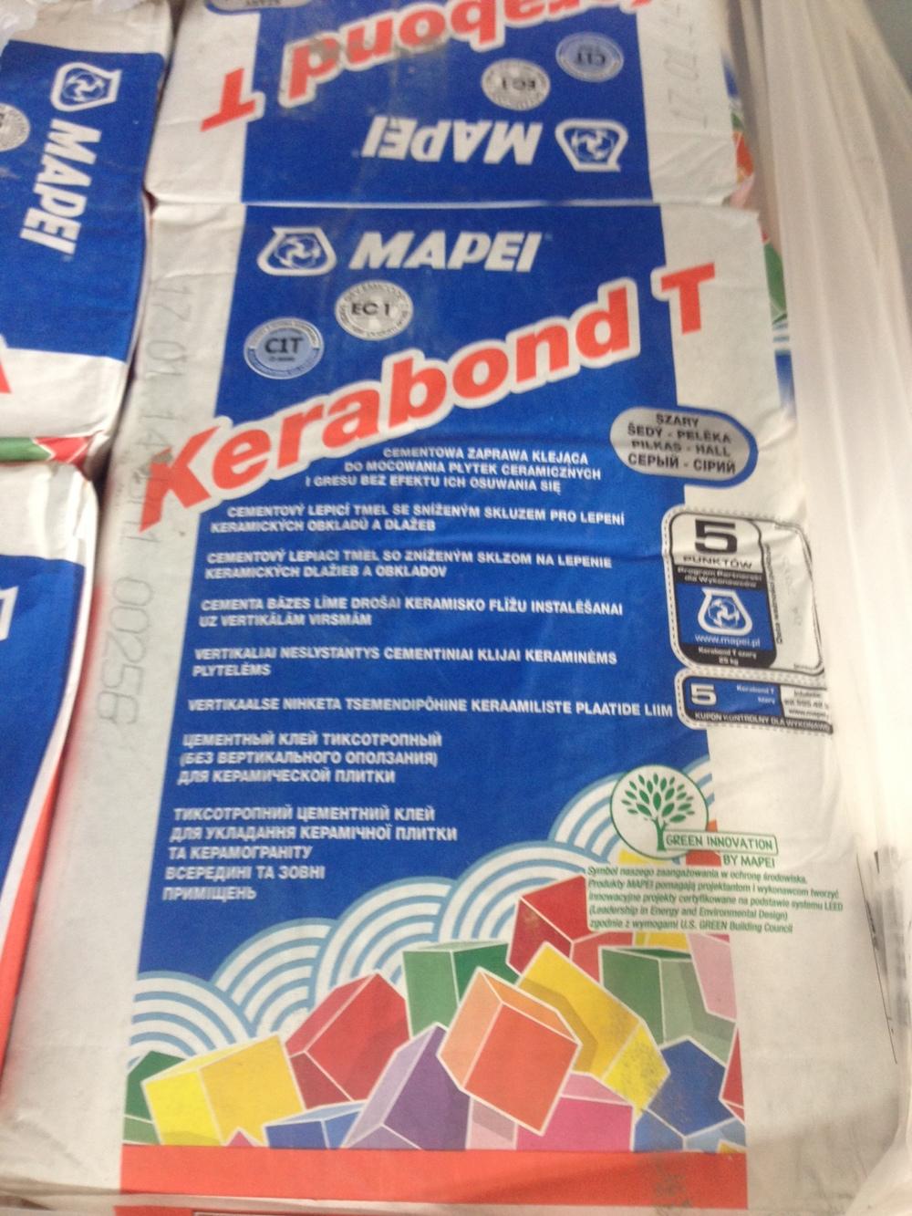 Mapei Kerabond T | Salon Łazienek Kamgres | Łódź