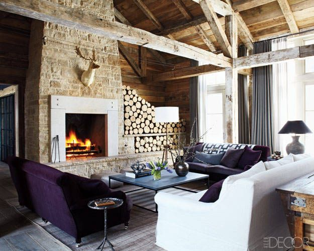 Lodge Luxe Where Rustic Meets Modern Tiffany Farha Design