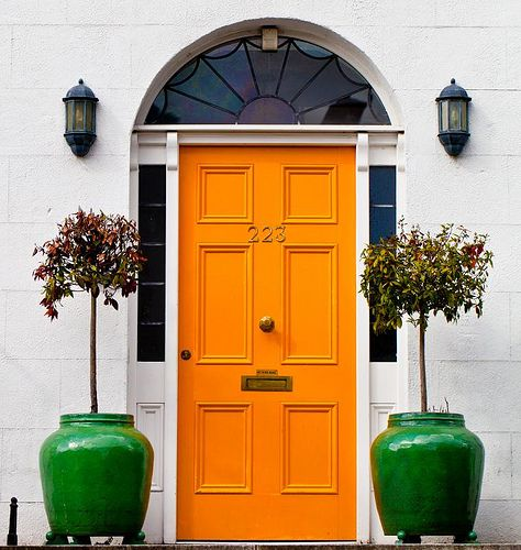 These colors alone are vibrant. Together, they demand attention. Next time you drive by my house you might just see this color on my front door.