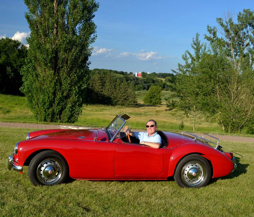 fred leverentz mga british sports car life fred leverentz s 1957 mga roadster
