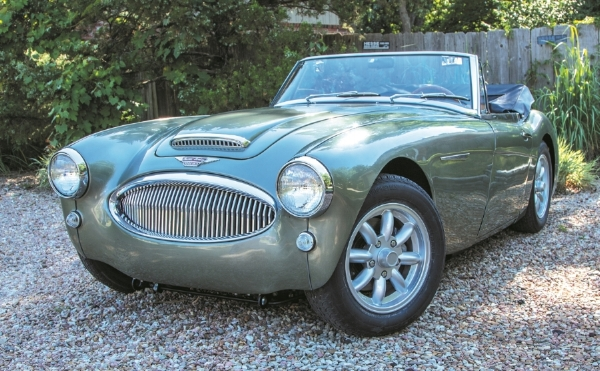 A Full Frame Off Restoration Was Performed On This Austin Healey 3000 BJ7  Over A 12 Year Period. The Biggest (and Hardest) Decision To Make On Any ...
