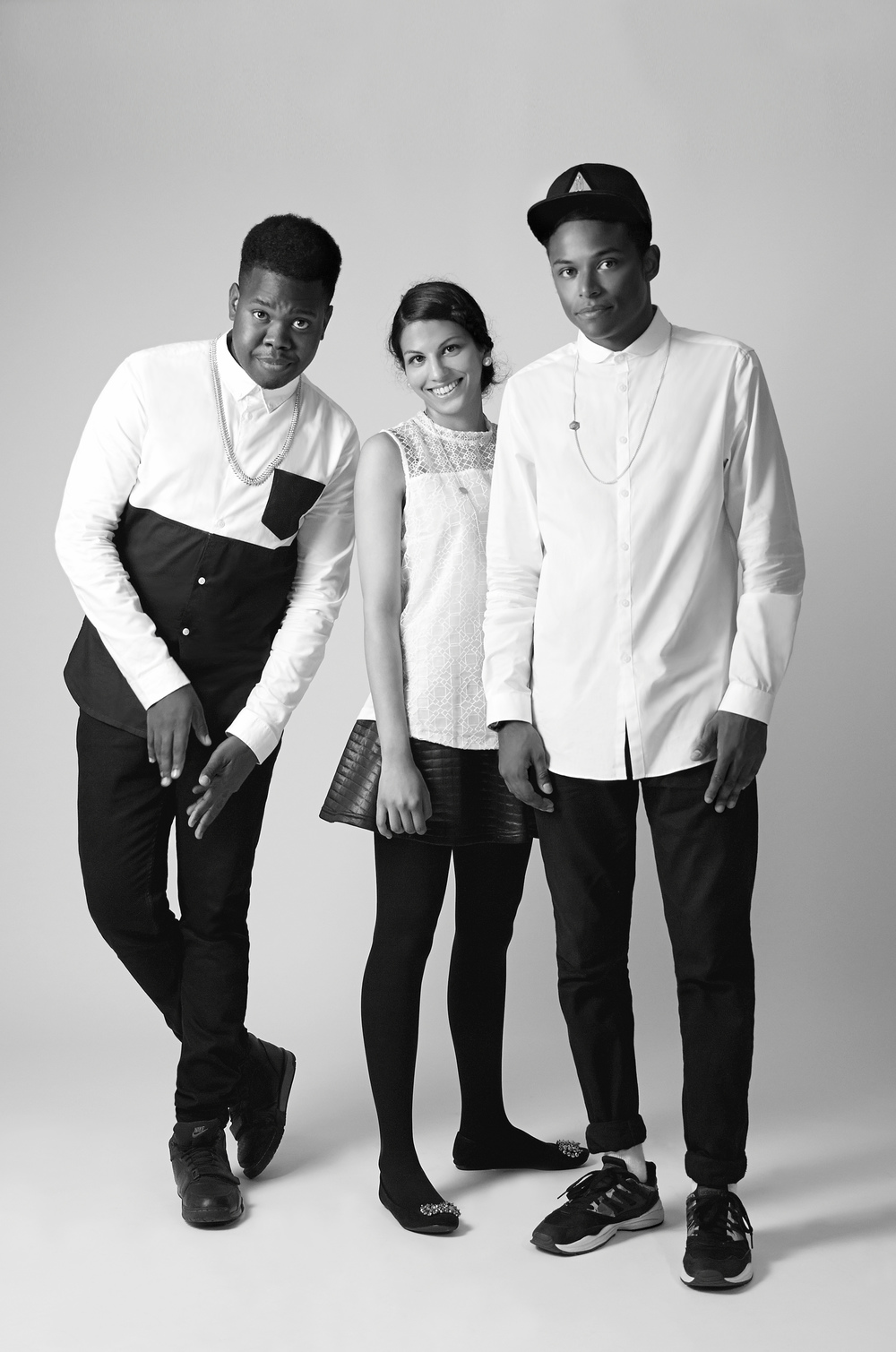 Quincey Cassell Williams - Co Founding Director Nadia Abbas - Co Founder & Jewellery Technologist Luke Hippolyte - Co Founder & Art Director