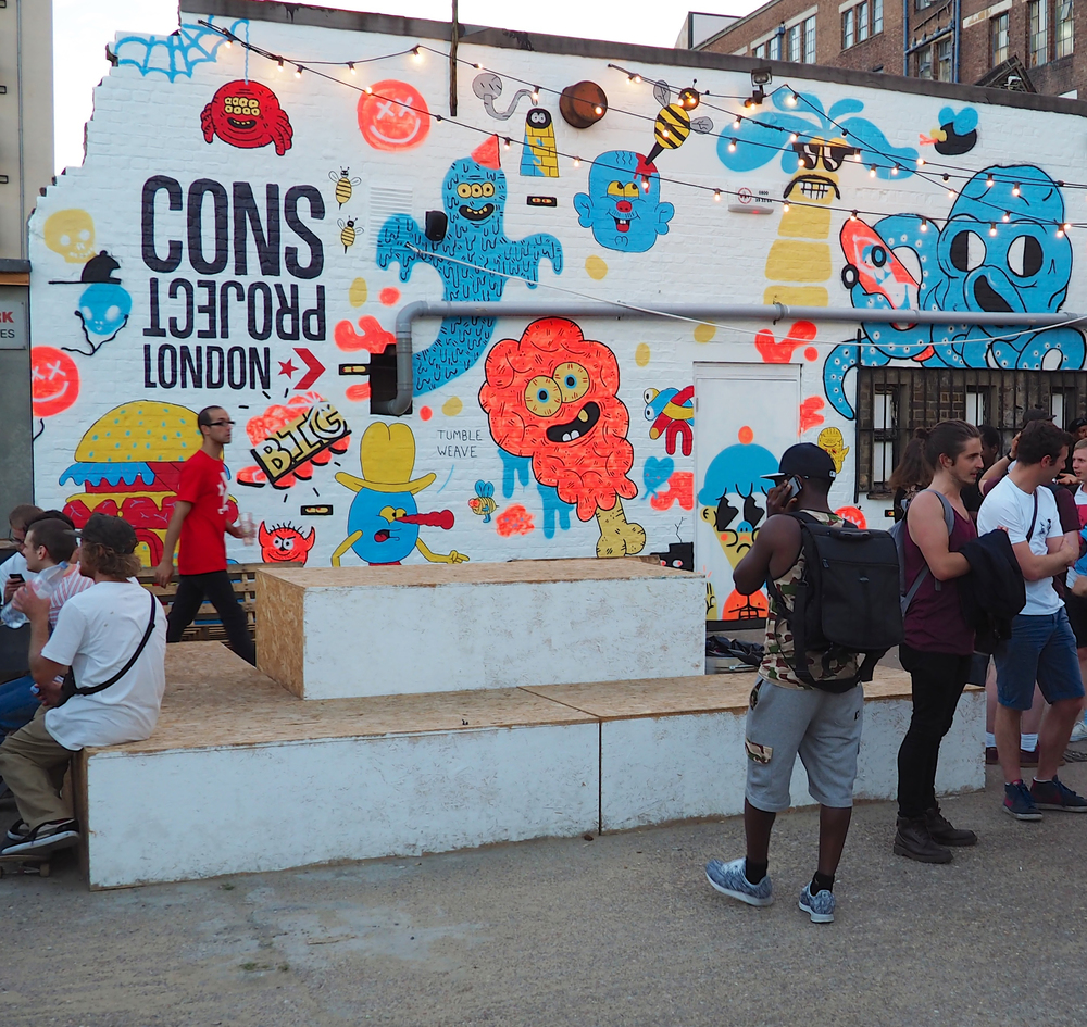 Cons Project  - Installation Converse