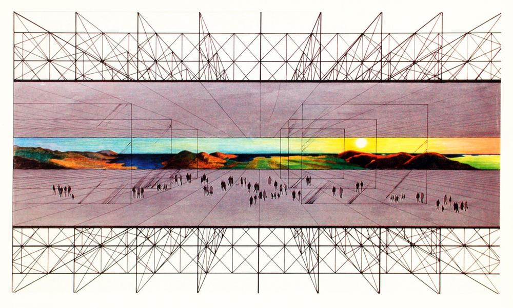 Archizoom - No-stop City - 1970
