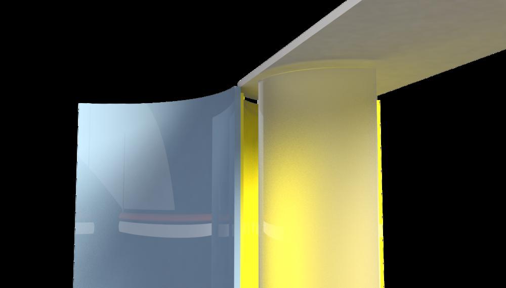 Glazen Suite Header