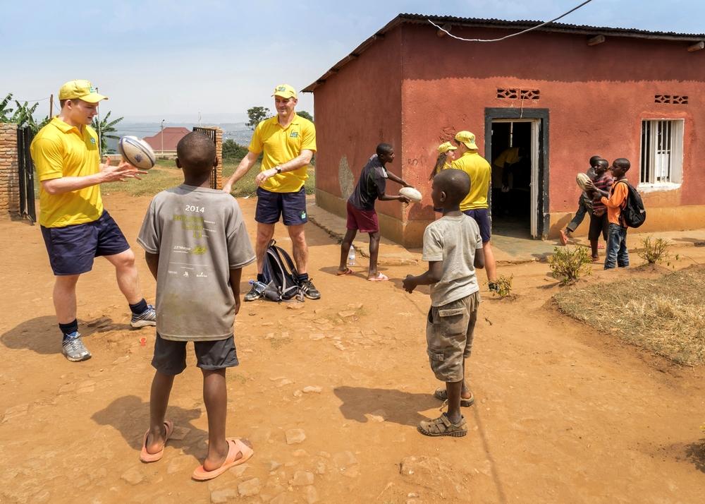 Coaching, Rwandan Orphans Project, Kigali