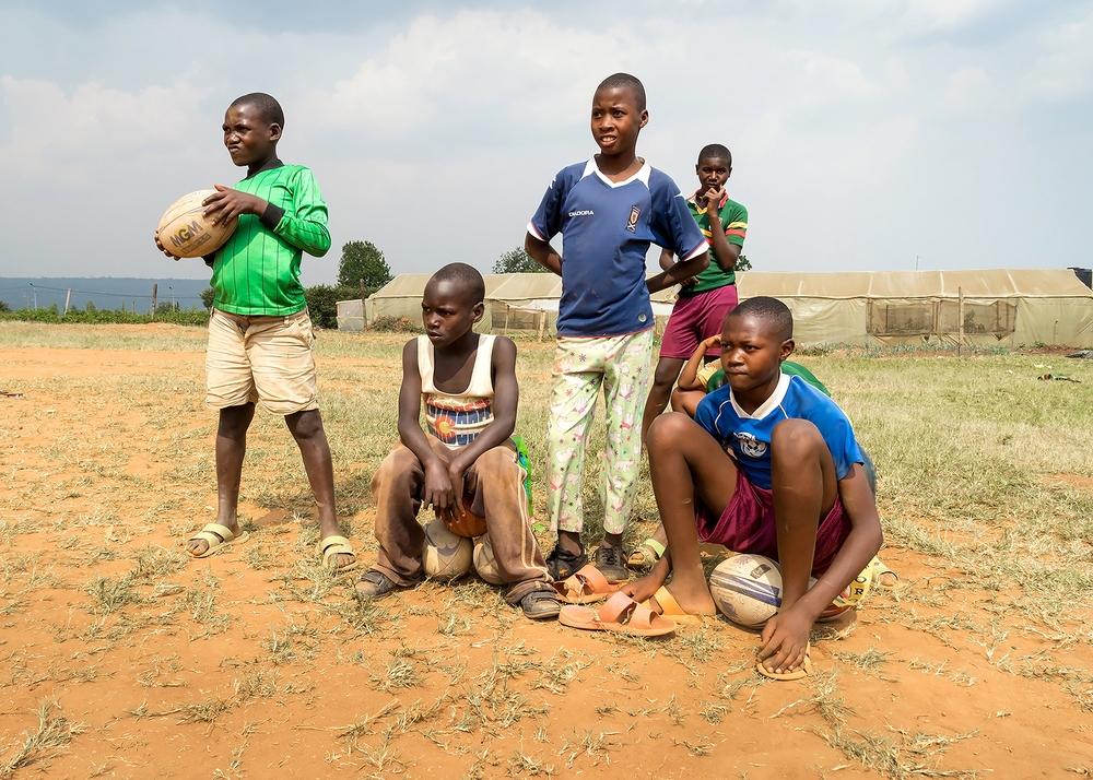 Spectators, Rwandan Orphans Project, Kigali