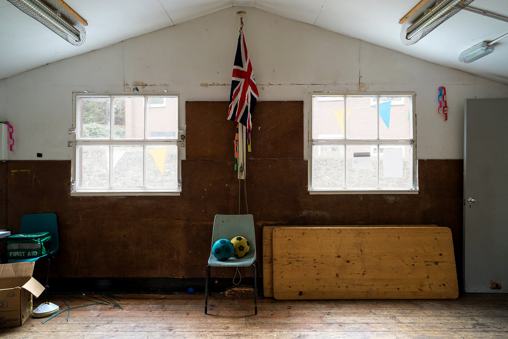 St Mary's Scout Hut  'The place is falling down, though I'll be sad when it does, there are memories for me written all over it. When they do pull it down, I'll come and get the floorboards, they are worn and stained with history.'