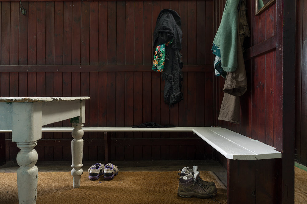 Henleaze Swimming Club  'It has a special atmosphere this place, this hut, it's part of the experience of being here. I just get undressed and I get dressed, but I like the feeling that it gives me. It's got a very homely, timeless, nostalgic feel. I'm taken out of my everyday life at this place, its got a very comforting, soothing feel, definitely.'