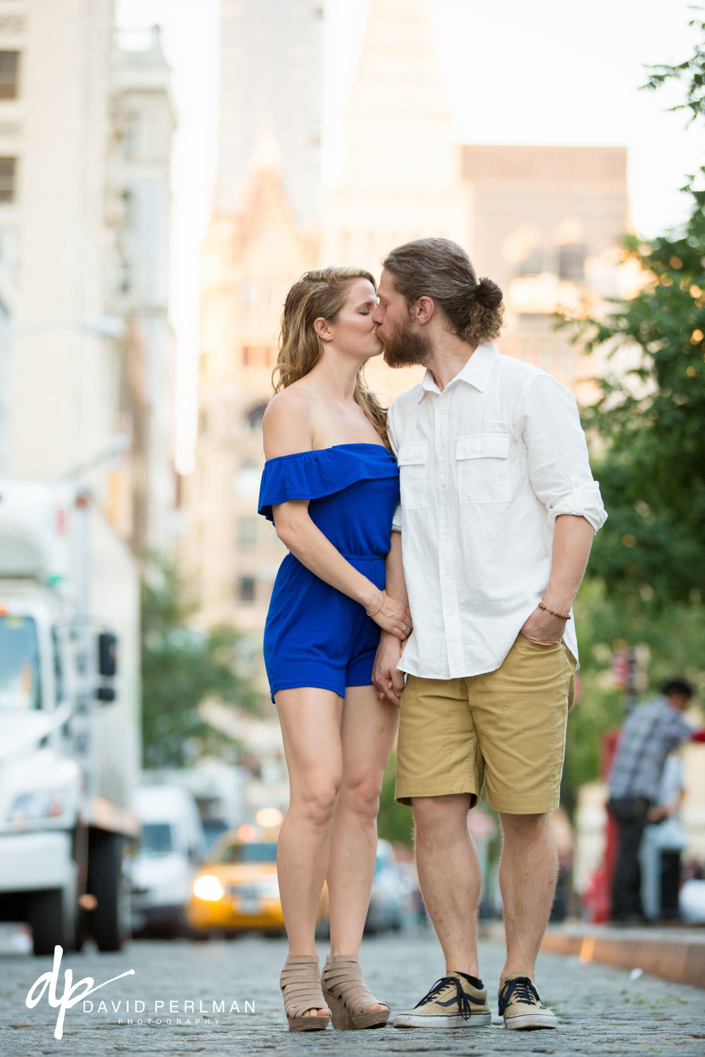 Union Square Engagement Photography Session