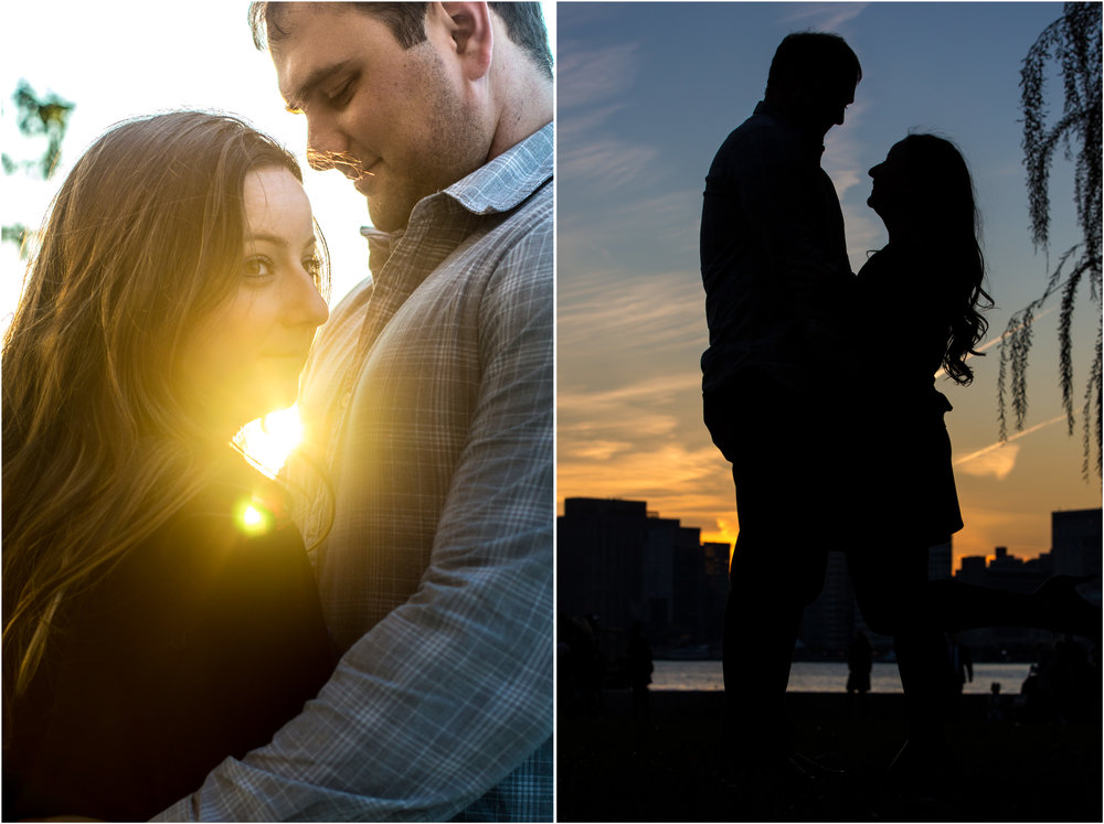 Gantry Plaza State Park Engagement Session Photos