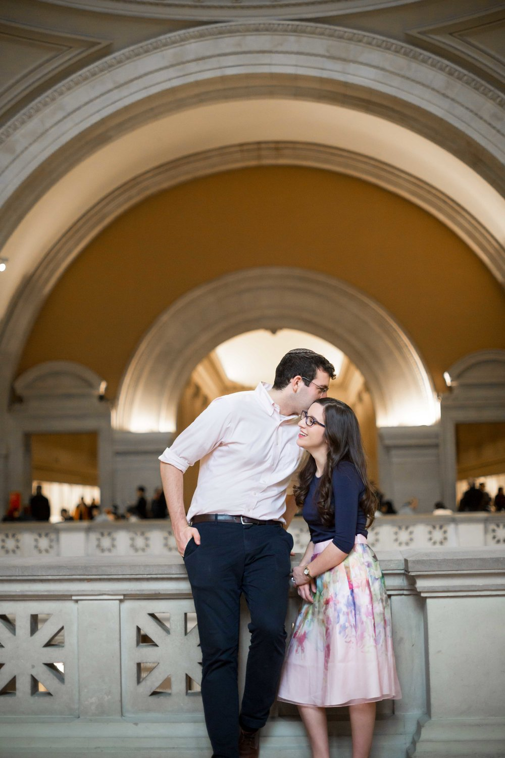 Metropolitan Museum of Art Engagement - NYC - Karen and Baruch