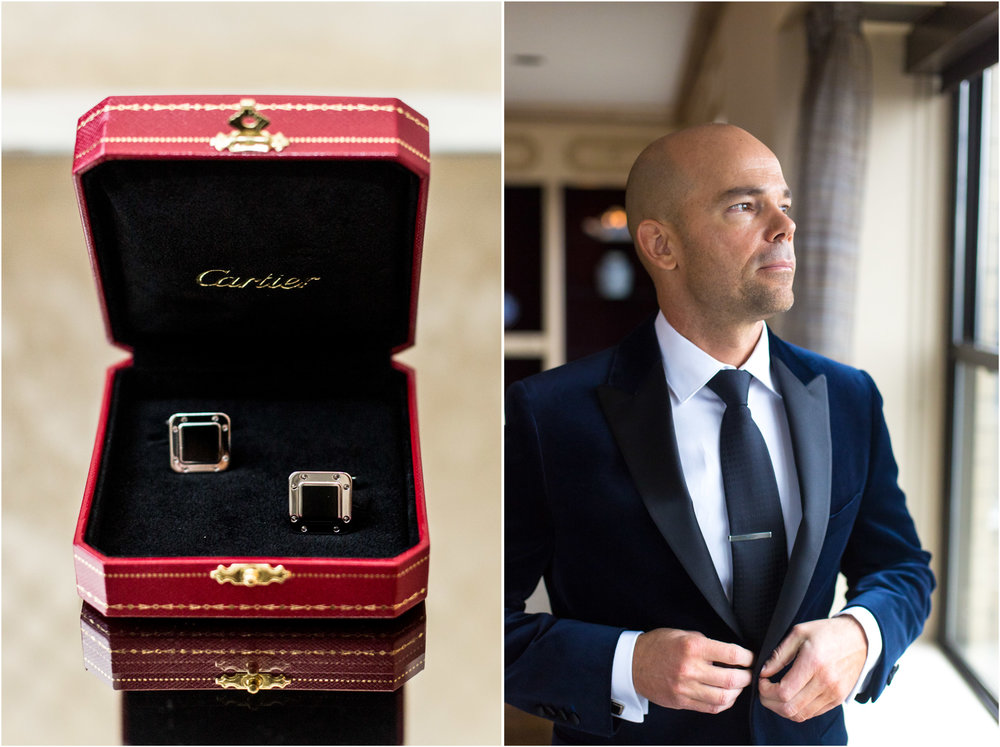 Cartier Cuff Links Wedding