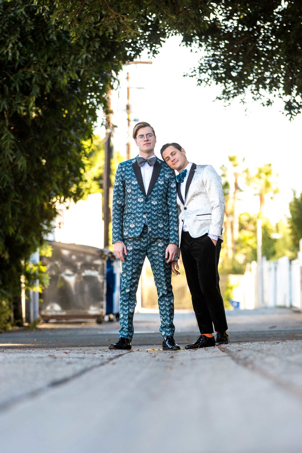 SmogShoppe Wedding LA Augustus Prew Jeffery Self Gay Same Sex Wedding Los Angeles