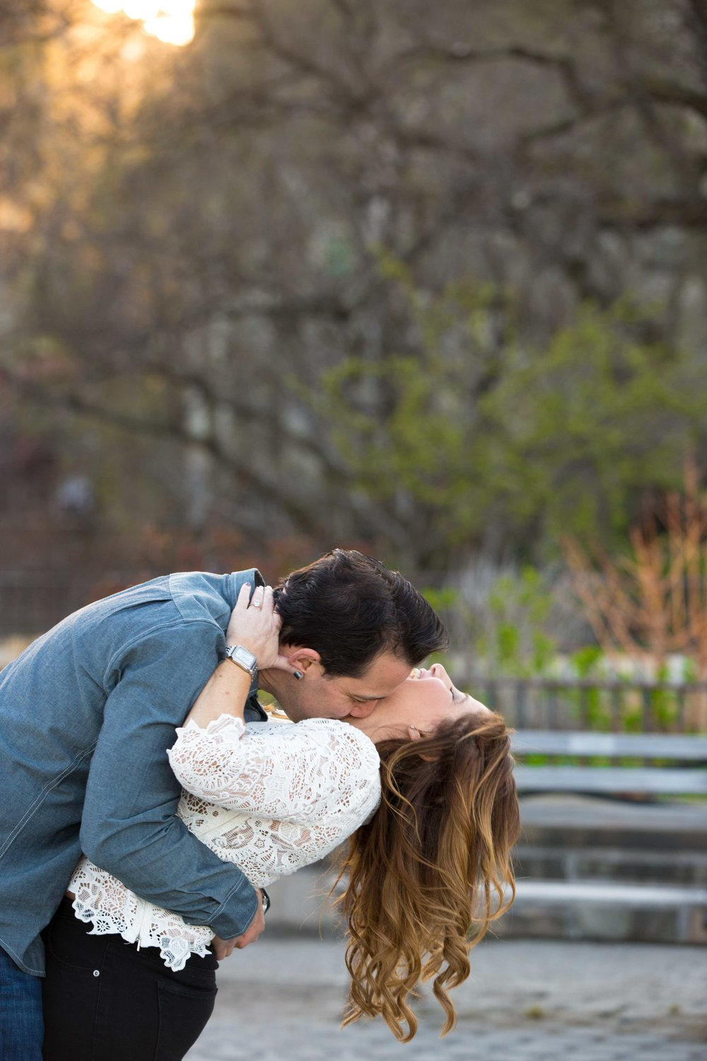 NYC Carl Schurz Park Engagement Photo Shoot Session 3.jpg