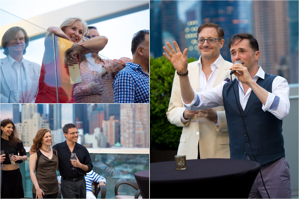 ink48 Rooftop Surprise Birthday Party NYC Wedding Photographer