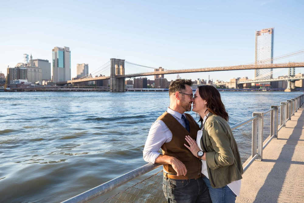 DUMBO Brooklyn Bridge Heights Promenade Anniversary Photo Shoot Session NYC Wedding Photographer-2.jpg