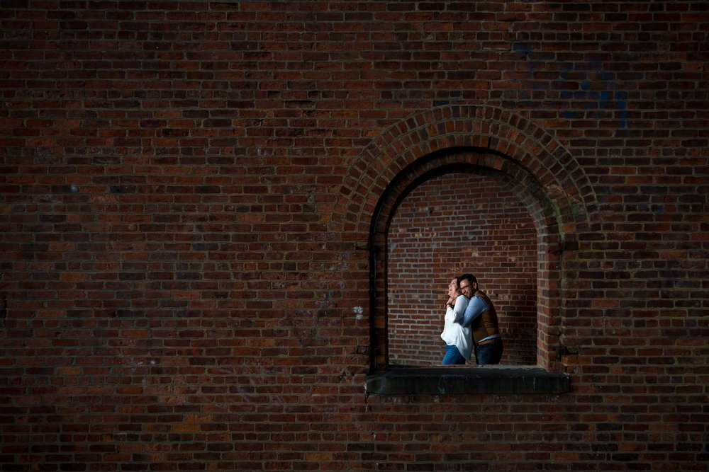 DUMBO Brooklyn Bridge Heights Promenade Anniversary Photo Shoot Session NYC Wedding Photographer-15.jpg
