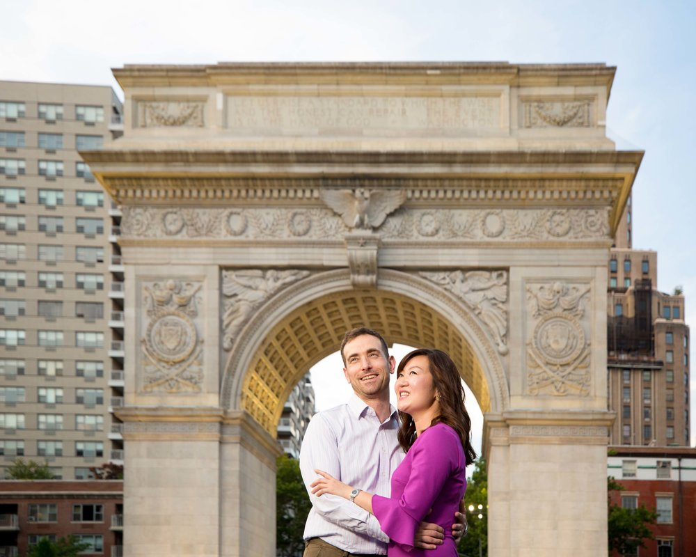 West Village Washington Square Park NYC Marriage Engagement Photo Session Shoot-11.jpg