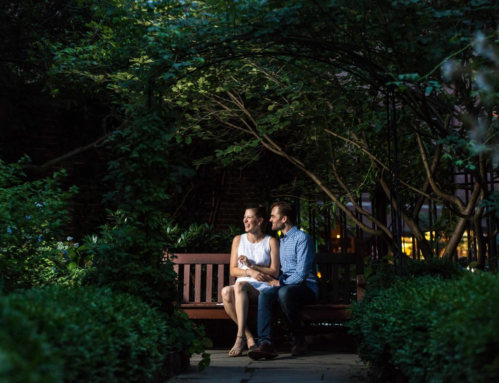 NYC Wedding Photographer Engagement Photos Photo Shoot Session West Village