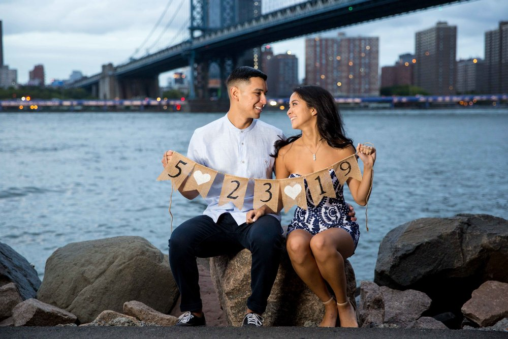 DUMBO Engagement Session NYC Wedding Photographer Brooklyn Phooto Shoot
