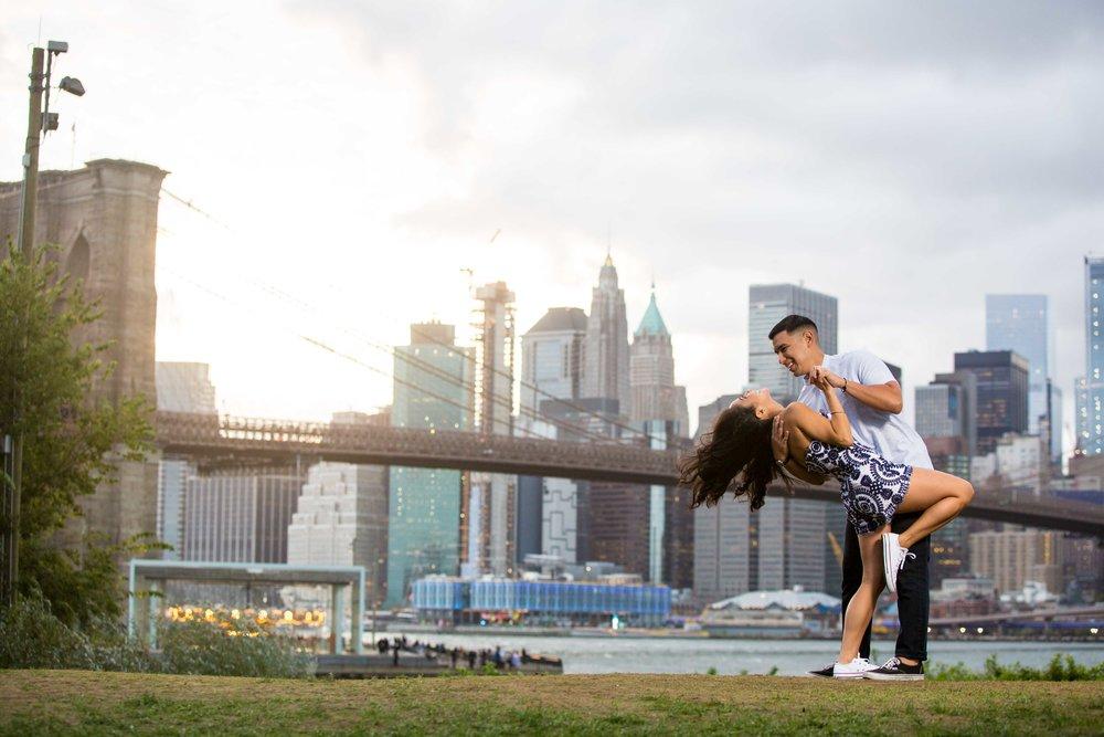 DUMBO Engagement Session NYC Wedding Photographer Brooklyn Phooto Shoot-20.jpg