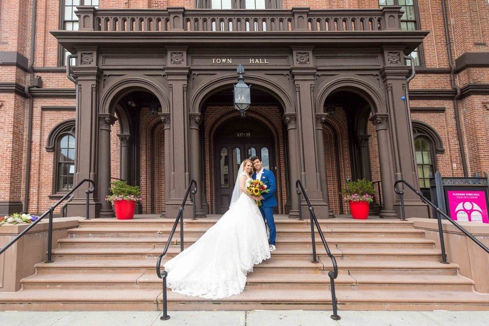 Flushing Town Hall Musical Theatre Wedding Queens NYC Photographer-40.jpg