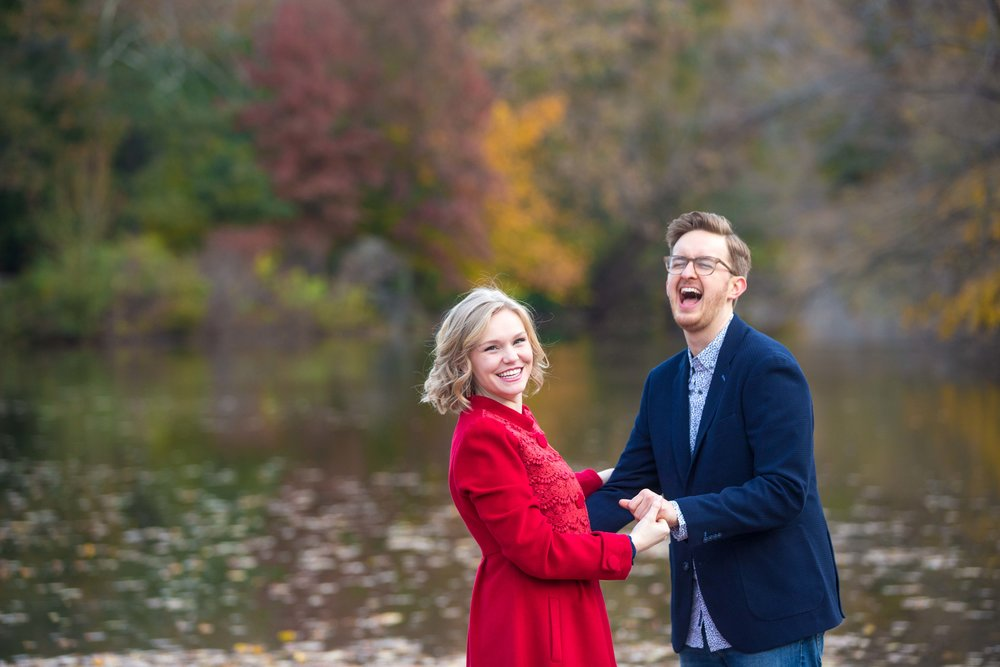 Central Park Engagement Photo Shoot Session NYC Wedding Photographer Fall-9.jpg