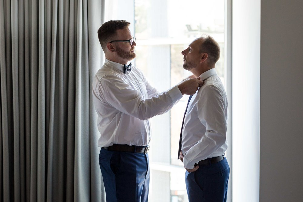 LA Wedding The Jeremy Hotel Los Angeles Same Sex Gay Wedding Photographer
