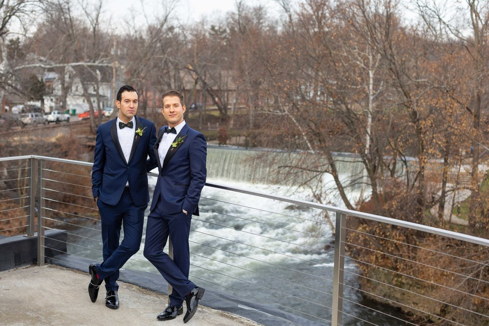 The Roundhouse Wedding Beacon NY New York Same Sex Gay Photographer NYC
