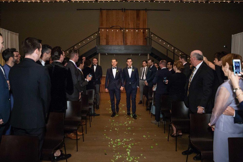 The Roundhouse Wedding Beacon NY New York Same Sex Gay Photographer NYC