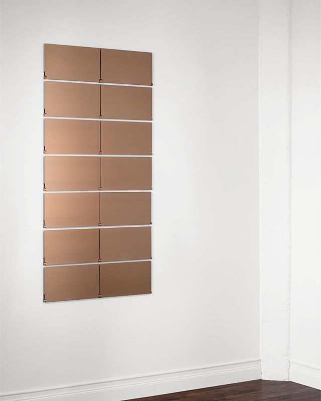 #copper #modern #shelving #architectural #design #aluminum