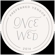 OnceWed_PreferredVendor_Circle_2014.png