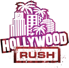 hollywood rush logo