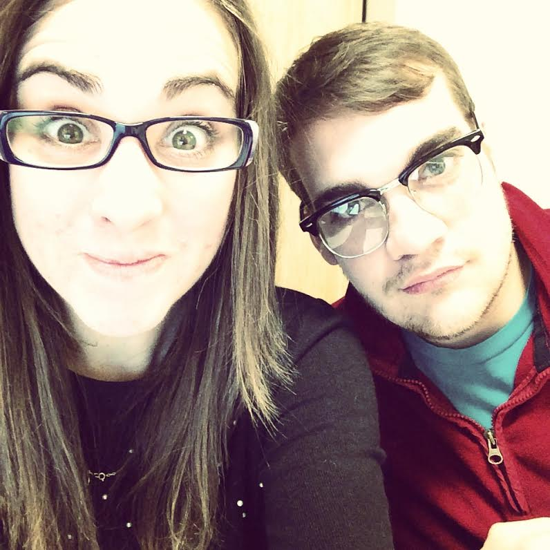 We wear glasses!