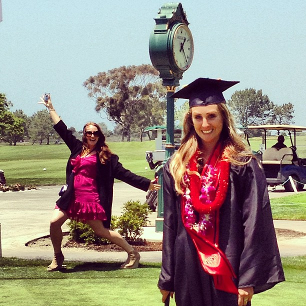 Sammy graduates college.