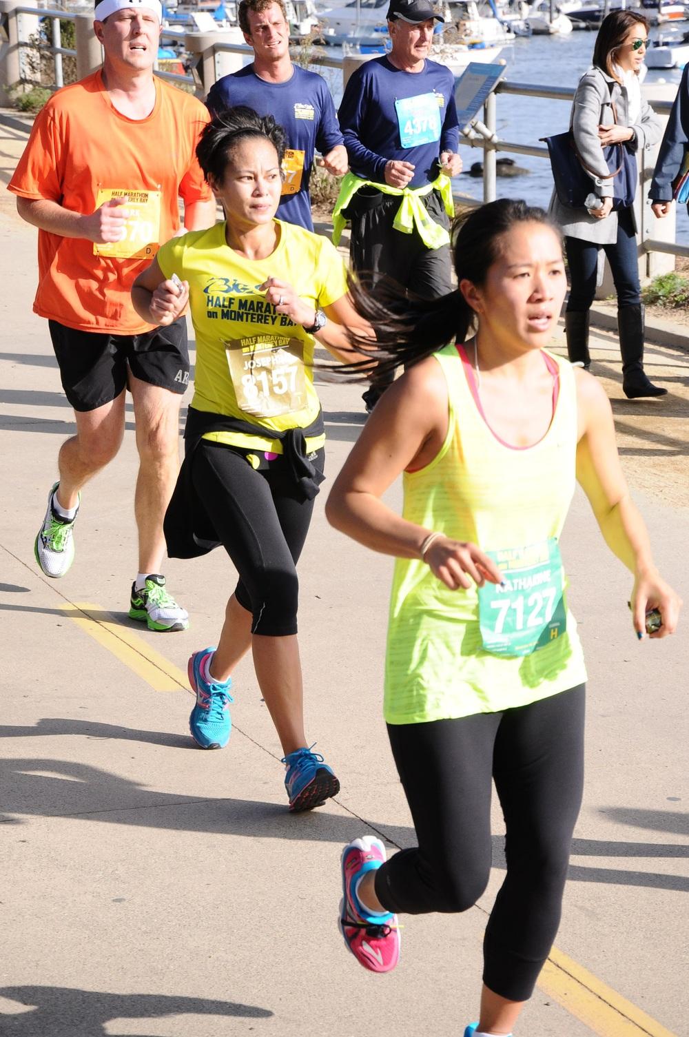 katharine's first half marathon
