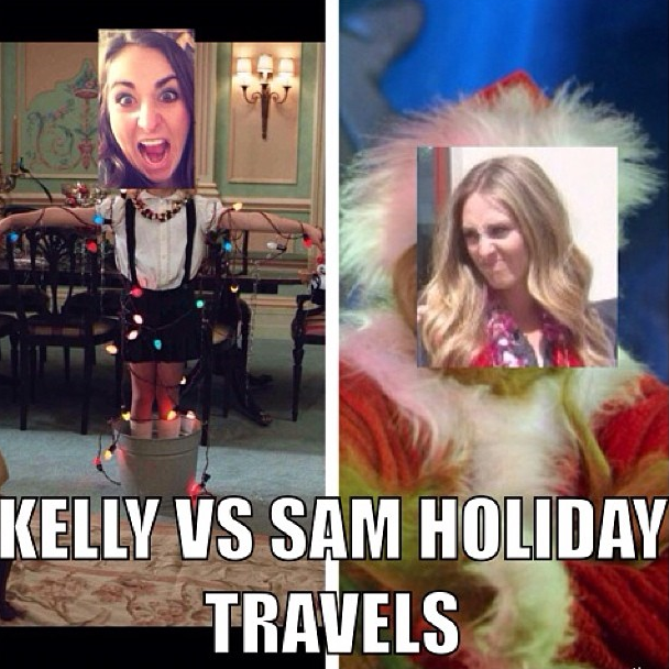 I bet you can guess what kind of a traveler Sammy is ;)