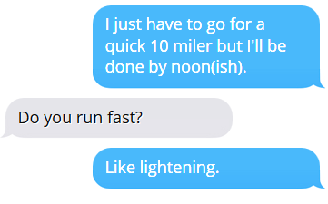 Things Non-Runners Say to Runners