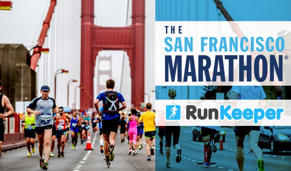 The San Francisco Marathon RunKeeper