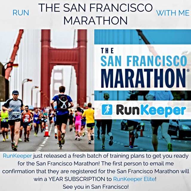 The San Francisco Marathon RunKeeper Elite Giveaway