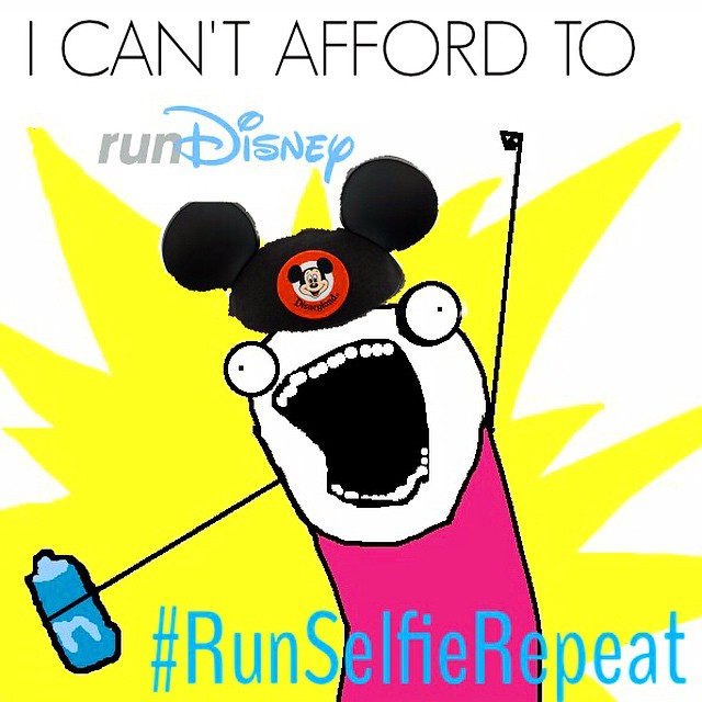I Can't Afford To Run Disney