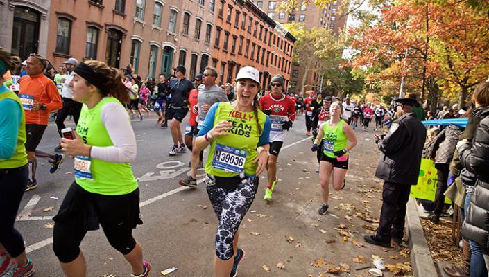 Kelly Roberts NYC Marathon