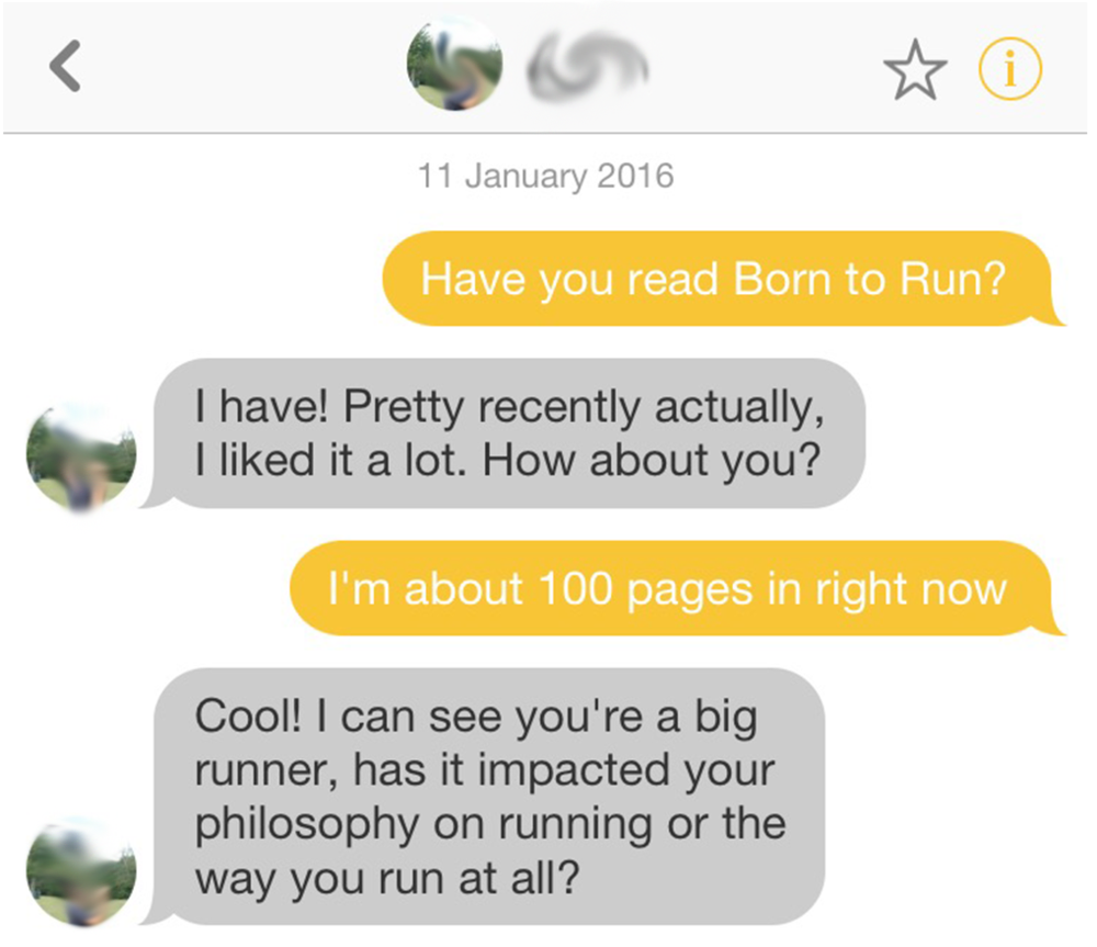 dating and being a runner in nyc